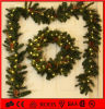 Het binnen Licht van de Slinger van Kerstmis van de Decoratie van de Vakantie Kleurrijke Met de hand gemaakte