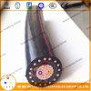 L'UL a certifié le câble d'alimentation examiné par câblage cuivre à un noyau de conducteur d'Al/Cu isolé par XLPE fabriqué en Chine 1/0 2/0 4/0 câble de Mv-90 Urd