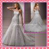 Один Applique шнурка Tulle плеча отбортовывая платье венчания A203
