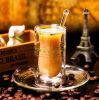 Taza de café creativa con la taza de café de la pared 80ml del doble del platillo