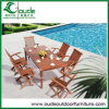 Foldable Outdoor Dining Solid Wood Furniture TableおよびChairs中国Made