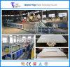 Chaîne de production décorative extérieure de plaque du panneau de plafond du panneau de mur de WPC/PVC/WPC