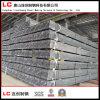 Grosser Hersteller-bester Preis-heißes Verkaufs-Quadrat/rechteckiges galvanisiertes Stahlrohr/Gefäß