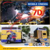 El nuevo asunto proyecta el simulador móvil del cine 5D del carro