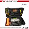 Dubbele Draagbaar Toolbox van de Compressor van de Lucht van de Auto van de Koffer van de Pomp van de Cilinder Opblaasbare 12V