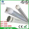 Gefäß-Licht der hohen Helligkeits-T8 60W 2400mm LED mit Cer RoHS UL-Bescheinigungen für Mall-Hotel-Haus-Beleuchtung