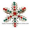 Bergkristal van de Diamant van de Joker van de Manier van de Decoratie van Kerstmis van de Broche van de Reeks van Chrismats de het In het groot en Broche van het Bergkristal (B02)