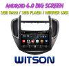 Witson grande ecrã de 9 com sistema Android 6.0 aluguer de DVD para Chevrolet Trax