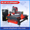 Router di legno di scultura di legno automatico di CNC della macchina Ele1325 con le Tabelle di vuoto da vendere