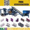 Qt4-18 Hidráulico Automático de 9 pulgadas Precio máquina de fabricación de ladrillos de cemento