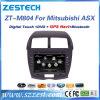 三菱Asx GPS航法システムのための2 DINのカーラジオ可聴周波DVD