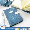 Cuaderno de papel de piedra material de la cubierta de cuero