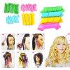 Atacado Magic Hair Curler Colorido DIY Magic Hair Stick 18PCS / Bag Ferramenta de cabeleireiro Magic Hair Curling Iron