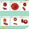 Glasierende Zeile V-Gürtel reparierte oder untätige Riemenscheibe