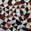Chapa de madera mosaico de Concha Nácar Material de construcción de la pared