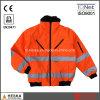 Изготовленный на заказ износ безопасности куртки обеспеченностью визави 3in1 3m бомбардировщика Hi отражательный