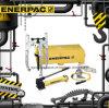 Первоначально пулер сжатия Enerpac устанавливает гидровлический пулер