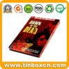長方形のCD錫ボックス、DVDの金属の錫の箱