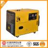 Super ruhiger Generator 5.5kw des Benzin-(68 dB/1m) mit Druckluftanlasser