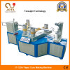 Machine de fabrication de tubes en papier en spirale de produit en emballage avec Cutter Core