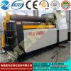 Vente chaude ! Machine de roulement de plaque de roulis du roulement Machine/4 de plaque de la commande numérique par ordinateur Mclw12CNC-25X2500 avec la norme de la CE