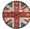 나무로 되는 영국 형식 시계