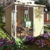 MinimのOSBのニースのオフィス家はホームスマートな容器の木の別荘をすする