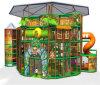 Parque de Diversões alegrar com temática de selva playground coberto