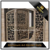 Modèles en aluminium de grille d'entrée de jardin pour la maison