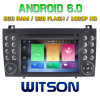 Witson octa-Core (Eight Core) Android 6.0 Car DVD voor ROM van ROM 1080P Touch Screen van Benz Slk200/Slk280 2g 32GB