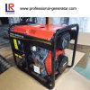 Dieselgenerator-einzelner/elektrischer Dreiphasiganfang des geöffneten Rahmen-5kw