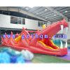 Le crocodile rouge combinaison gonflable Obstacle diapositives Bouncer Bouncy Chambre pour le jeu Game Center