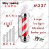 Indicatore luminoso di palo del barbiere del salone di capelli di alta qualità di servire M337