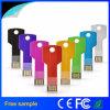 多彩な金属のキーの形USBのフラッシュ駆動機構16GB