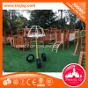 Drôle d'âge préscolaire Fonction Muti Kids Diapositives de l'équipement de terrain de jeux de plein air en plastique