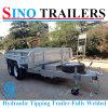 Hydraulische Tippende Aanhangwagen voor Verkoop