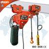 2t de baja altura libre polipasto eléctrico de cadena