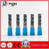 Nem-HRC50 Carboneto sólido 4 flautas Ferramenta de corte