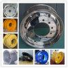(22,5X8.25, 9.00X22.5) Carretilla aluminio forjado ruedas de aluminio, llantas, ruedas de aleación de acero, ruedas de carretilla