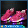 新しいデザイン普及した子供の子供の車輪のローラースケートLEDの靴