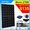 China, el mejor precio de 270W solar monocristalino del producto