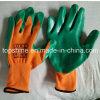 Профессиональные промышленные полиэстера с покрытием из латекса работа по охране труда перчатки