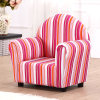 편리한 Stripe Fabric Children Sofa Furniture (SXBB-13-01)
