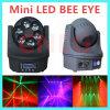 6 X 15W RGBW Mini Bee Eye LED Moving Head
