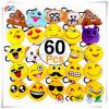 Emoji-Schioccare le decorazioni Pendant 2 di Keychain dell'anello chiave dell'automobile di favori dei rifornimenti del partito di Keychain Emoji del cuscino della peluche