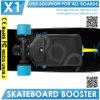 Двойное колесо Longboard форсированное мотором Skatebaords