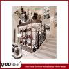 Branded Handbag 상점 Interior Design를 위한 포도 수확 Display Showcases