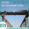 Hook Capacity 20/5년 Ton를 가진 2016 Qd Model Overhead Crane