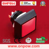 De Drukknop Switch van Metal van Onpow (gq12s-10/j/a-r, 12mm, Ce, RoHS)