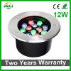 Хорошего качества подземных RGB 12 Вт лампа